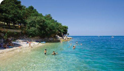 zelena laguna beach istria croatia single parent holiday