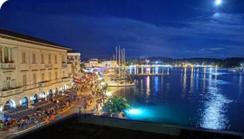 Porec in Istria, Porec old town, Porec harbour