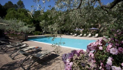 Umbria, hotel La Macchia in Spoleto, single parent holiday