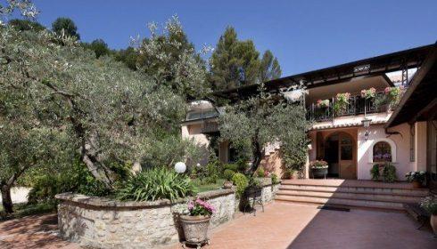 hotel La Macchia, Spoleto, Umbria, single parent activity holiday