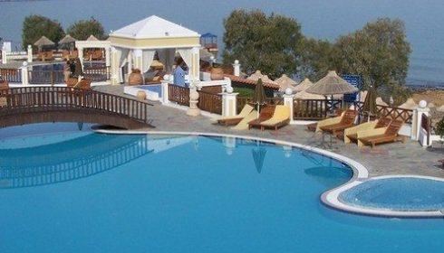 Hotel Alexander Beach pool landscape