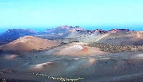 Fire Mountains in the Timanfaya National Park on Lanzarote