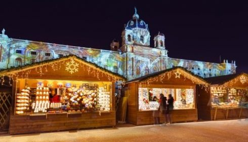 Christmas market - Museums quarter, Vienna