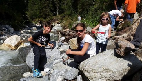 single parent farm holiday in Austria - kids club activities