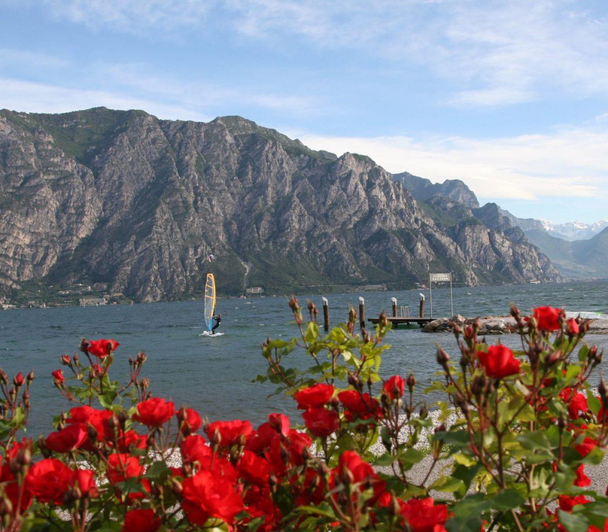 Lake Garda windsurfing