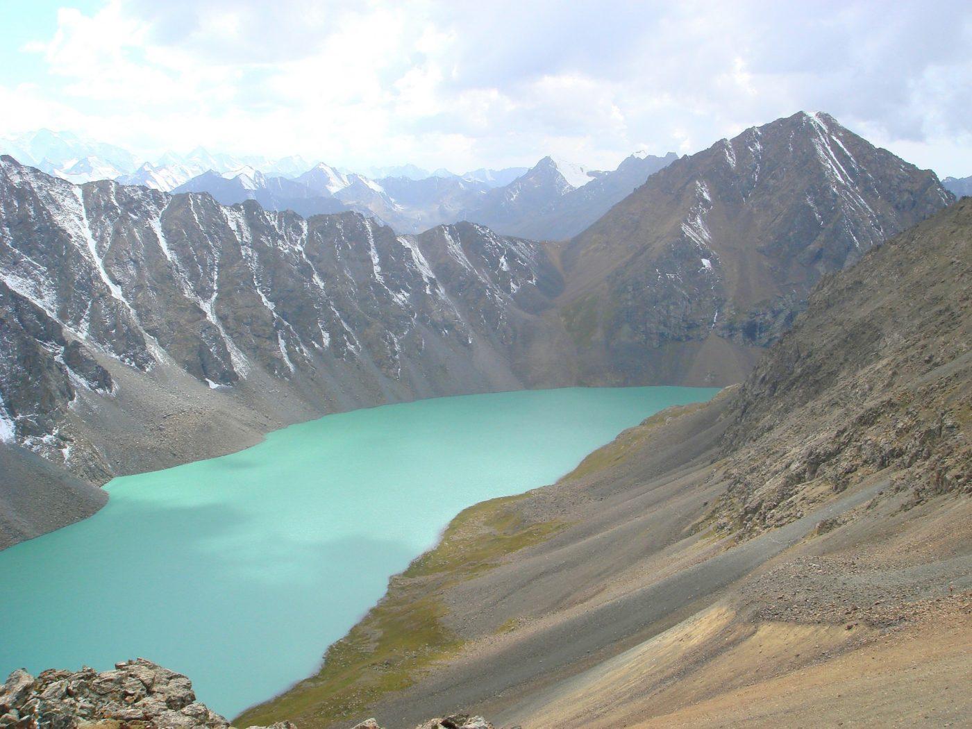 Picture of Ala köl lake, Kyrgyzstan