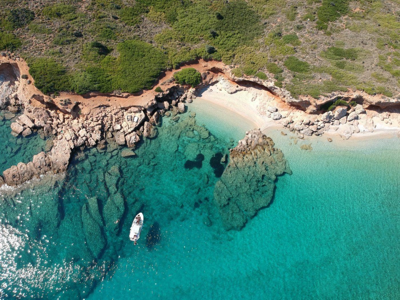 the Greek island of Alonnisos