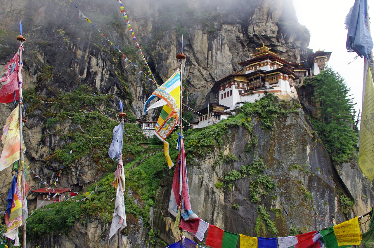 Picture of Bhutan, takshang