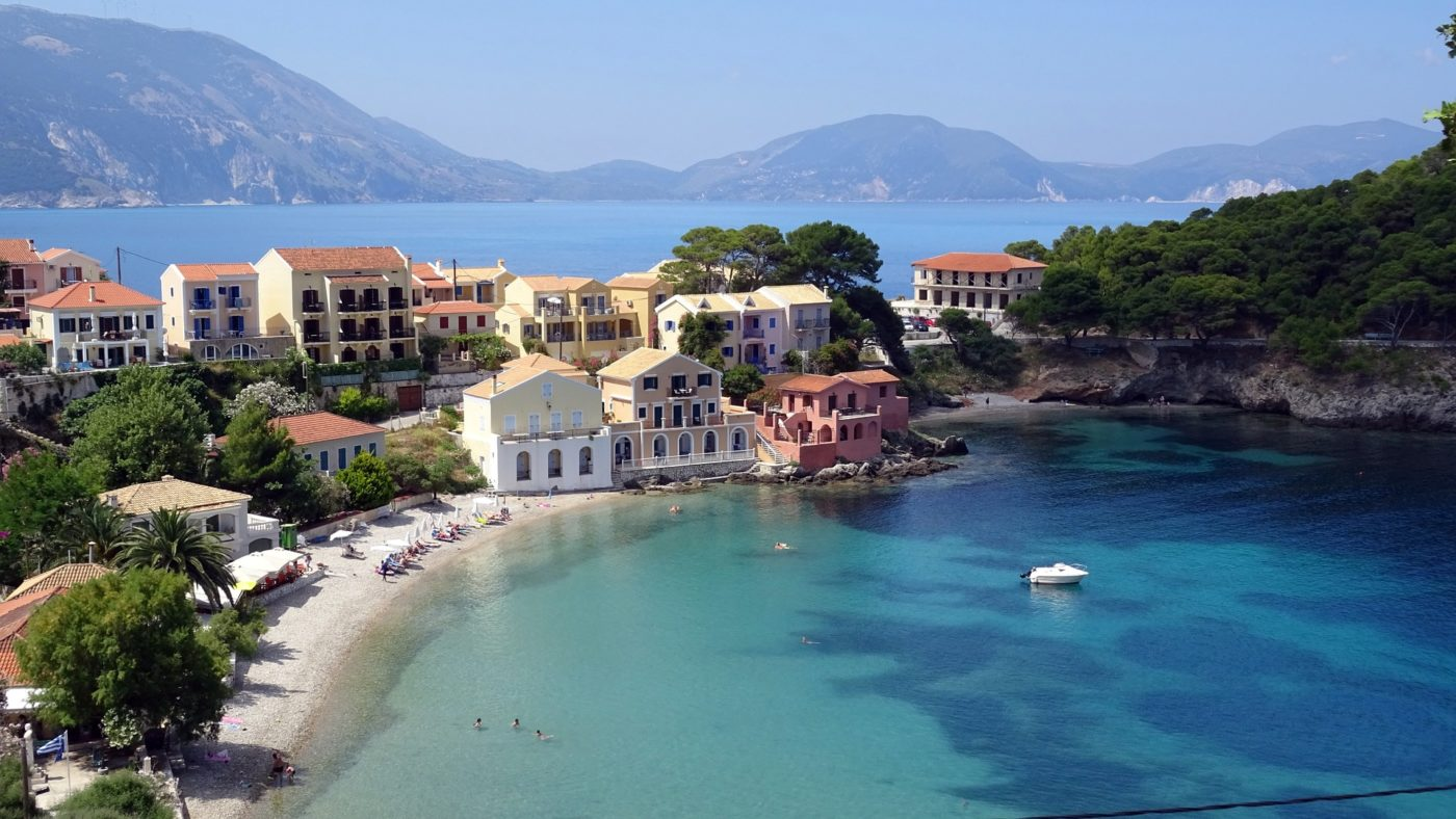 the Greek island of Cephalonia