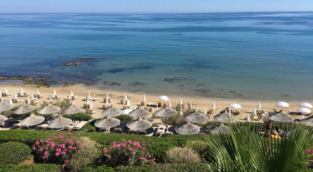 Crete facts: Beach in Malia