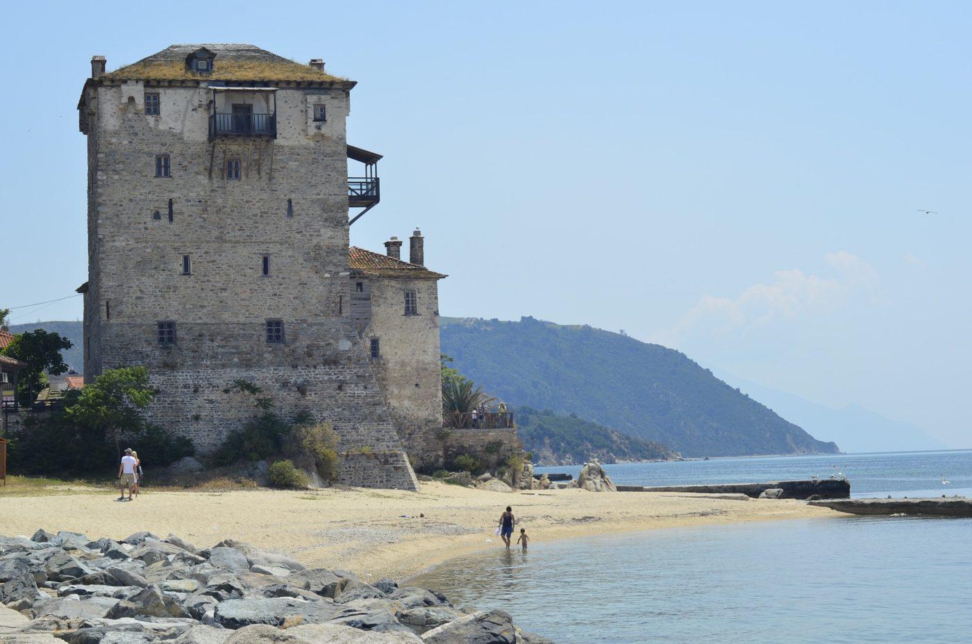 the best Greek islands incl. the peninsula of Halkidiki