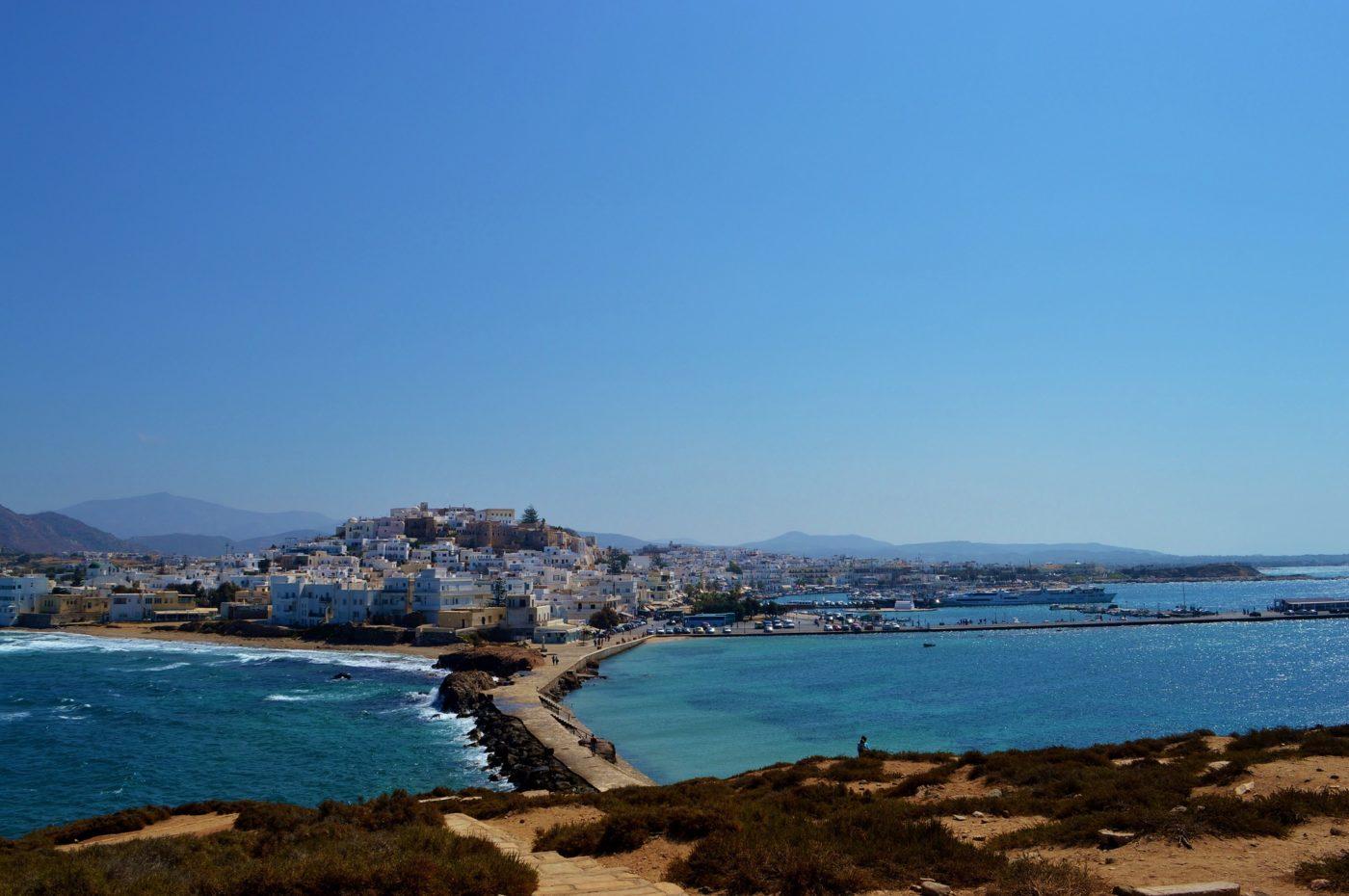the Greek island of Naxos