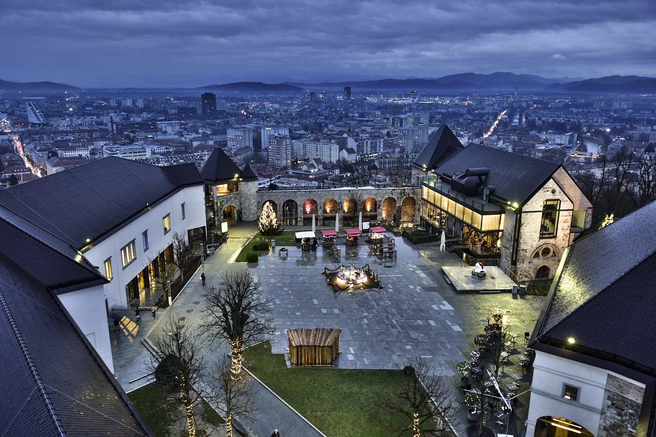 Picture of Ljubljana from Castle