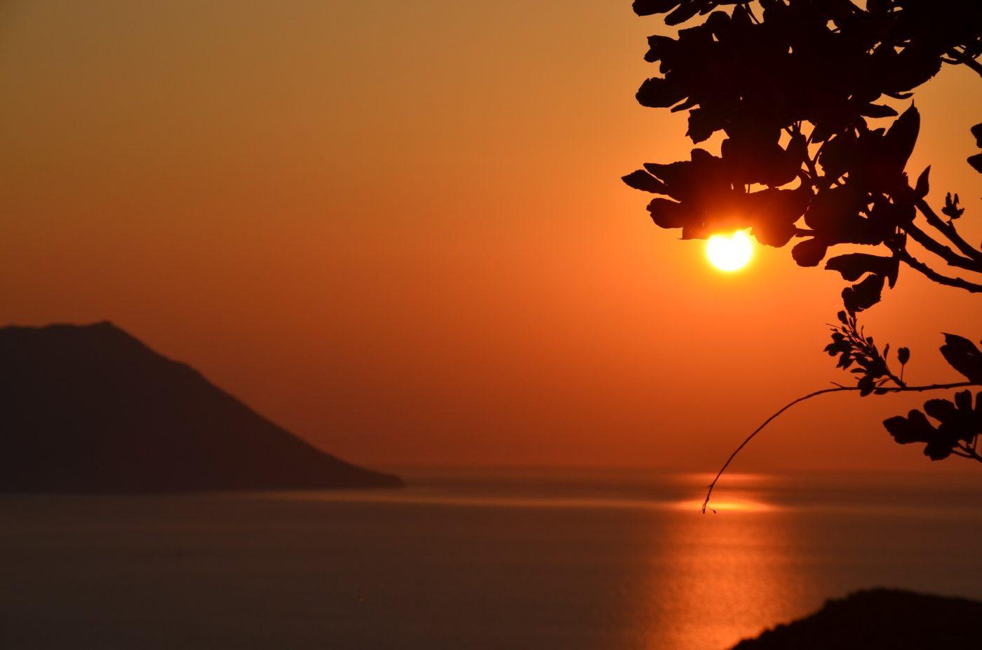 the Greek island of Milos