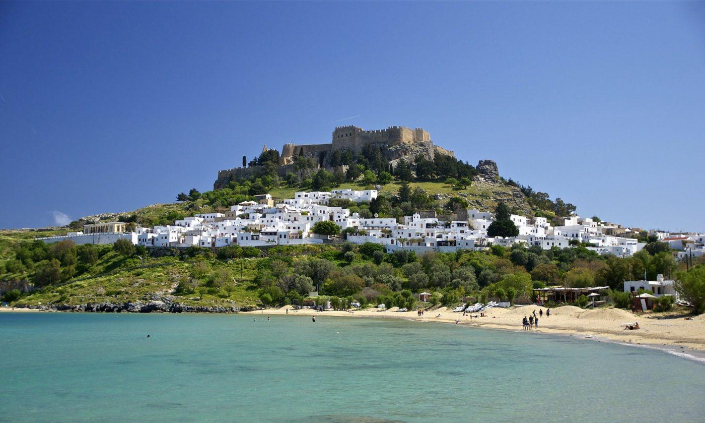 the Greek island of Rhodes