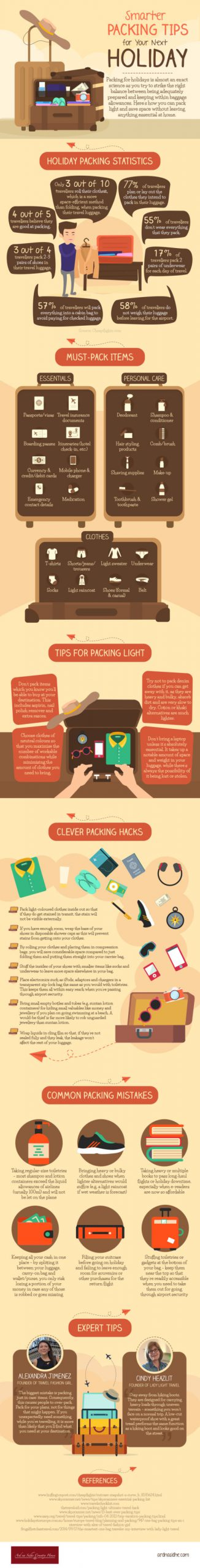 clever packing tips for your trip