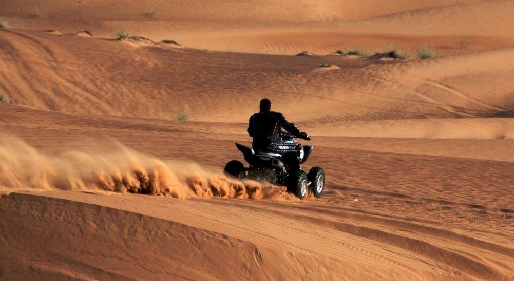 Marrakech desert tours - quad biking