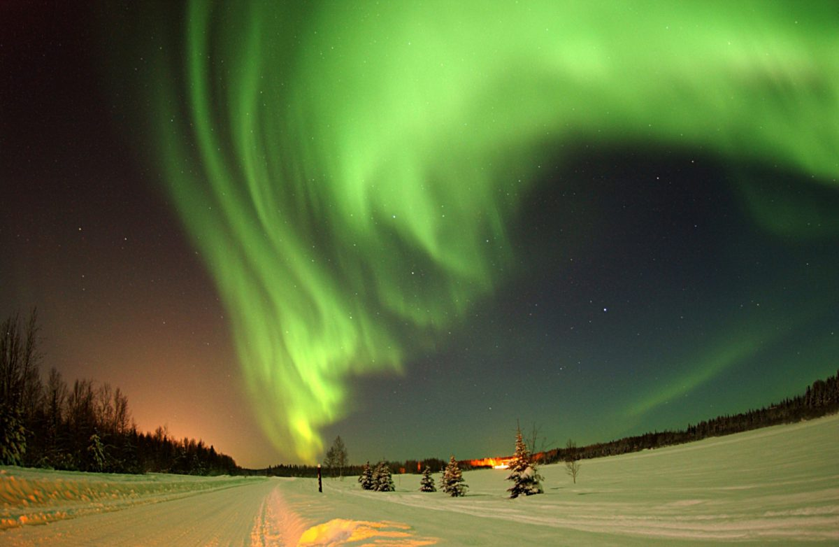 The Northen Lights in Alaska