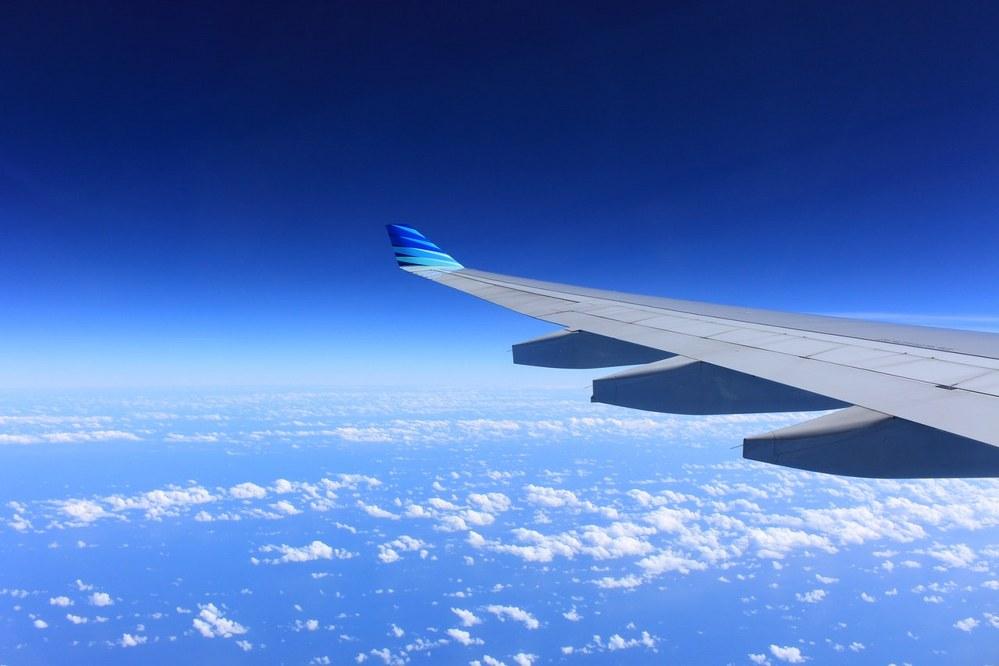 aeroplane on long haul flight