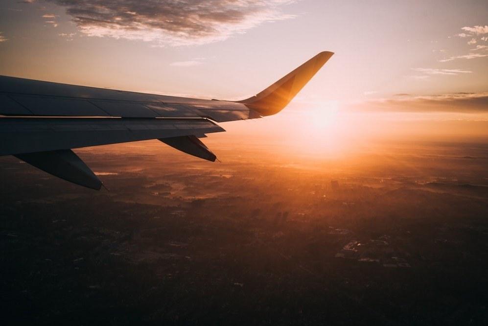 single mum holidays - flying by plane