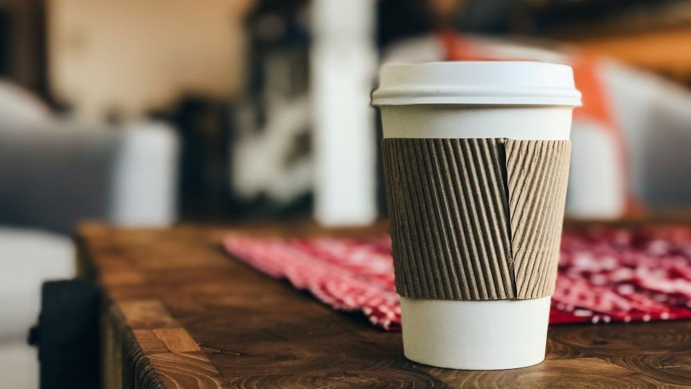 single parent benefits and money saving tips - takeout coffee