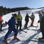 single parent holidays with teenagers - skiing