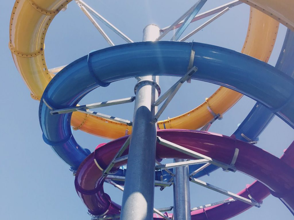 visit a water park in the Algarve