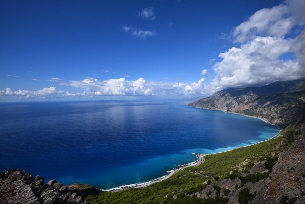 Crete facts - coastline