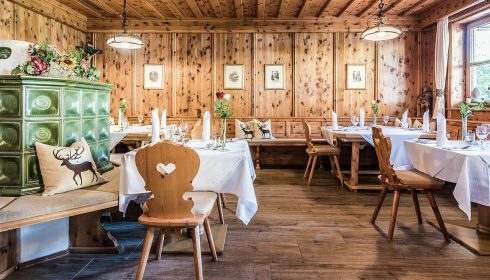 restaurant at Lisi hotel in Reith Kitzbühel Austria