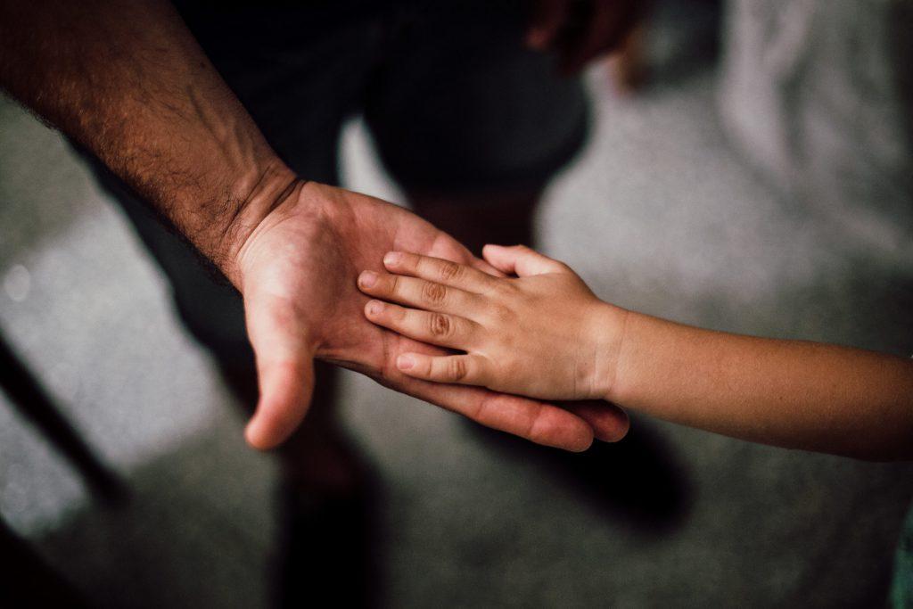 parent and child high five 100 single parent quotes