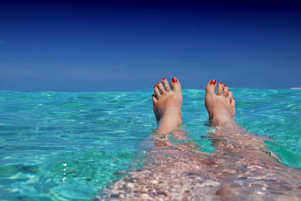 Relax and put your feet up on your one parent holiday