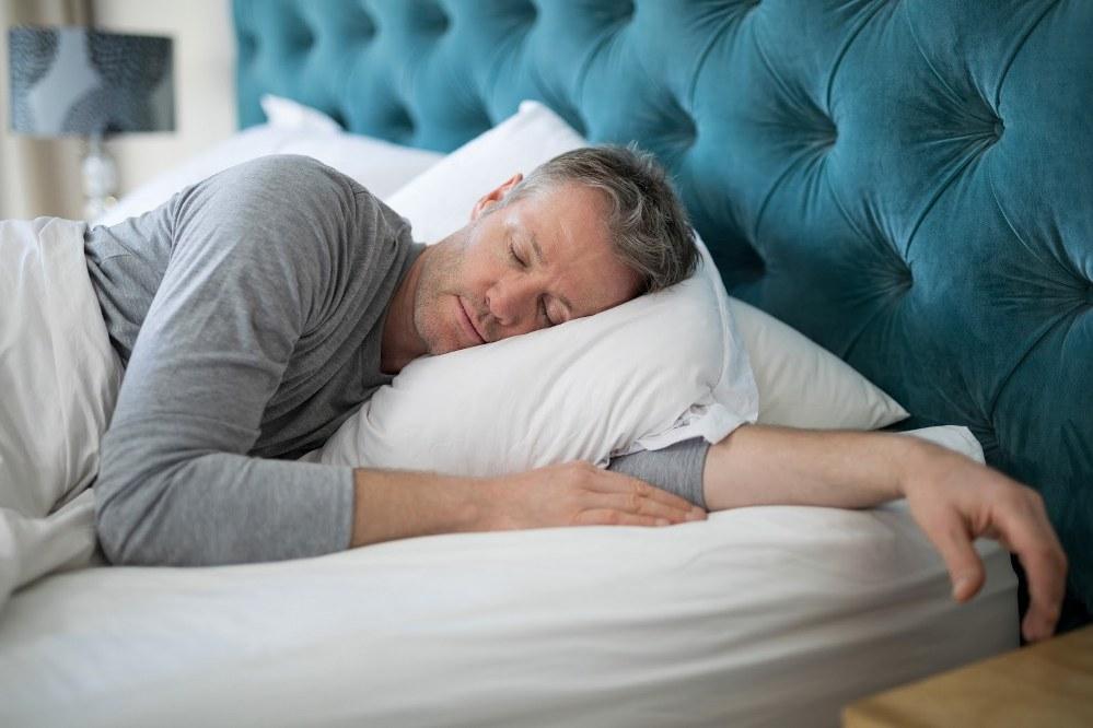 single dad sleeping