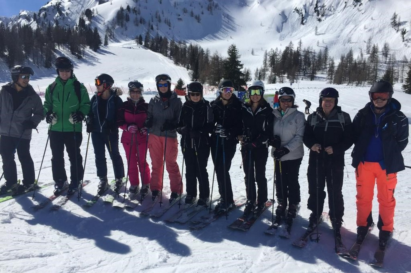 singles holiday over 40s - skiing trip with SPoH March 2019
