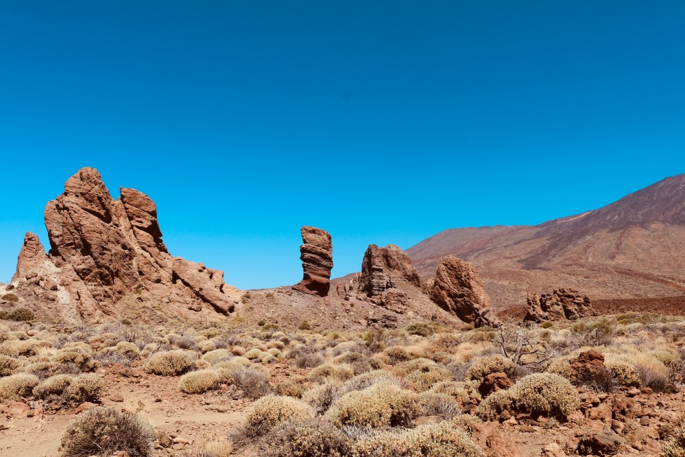 holidays with kids - rock formations in Tenerife