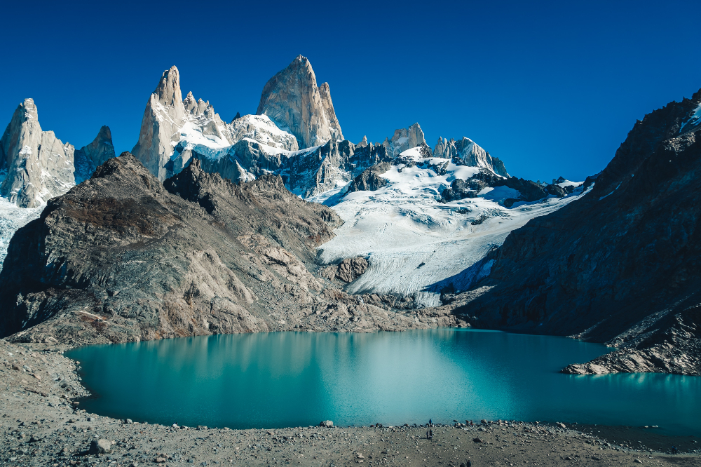 best hiking trails in South America - Mount Fitz Roy