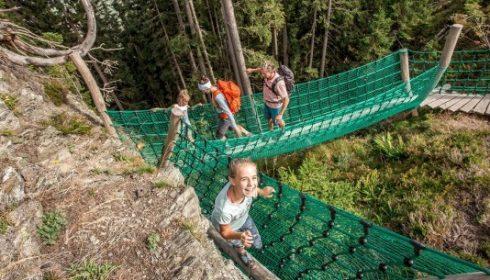 children at Spieljoch Tirol