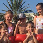 children at aqua park in Paphos