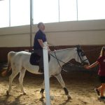 riding lesson at Gelindo dei Magredi