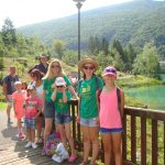 single parent families at Lake Barcis