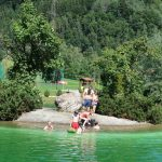 swimming lake Austria