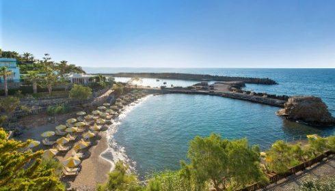 beach at the Iberostar Creta Panorama