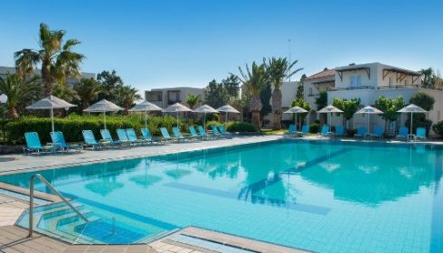 pool at the Iberostar Creta Panorama Hotel