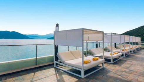 patio at the Iberostar Herceg Novi hotel