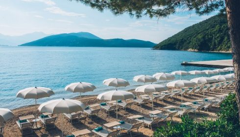 beach at hotel Iberostar Herceg Novi