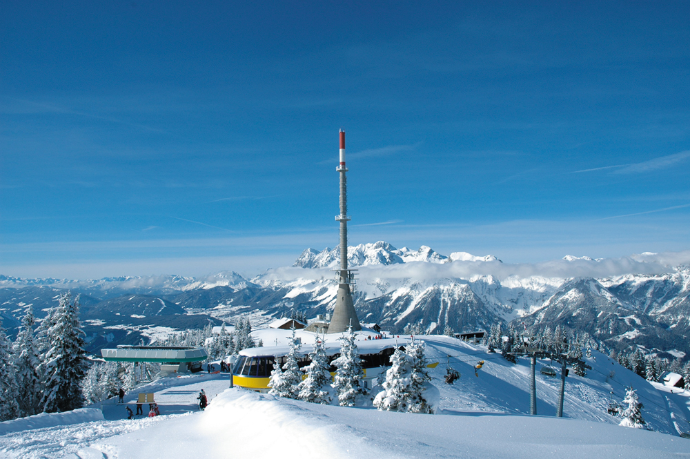 Hauser Kaibling in Schladming - one of the best ski resorts 2020