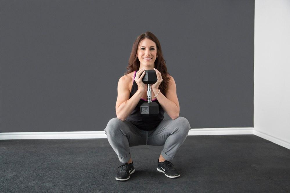 ski exercises - squats
