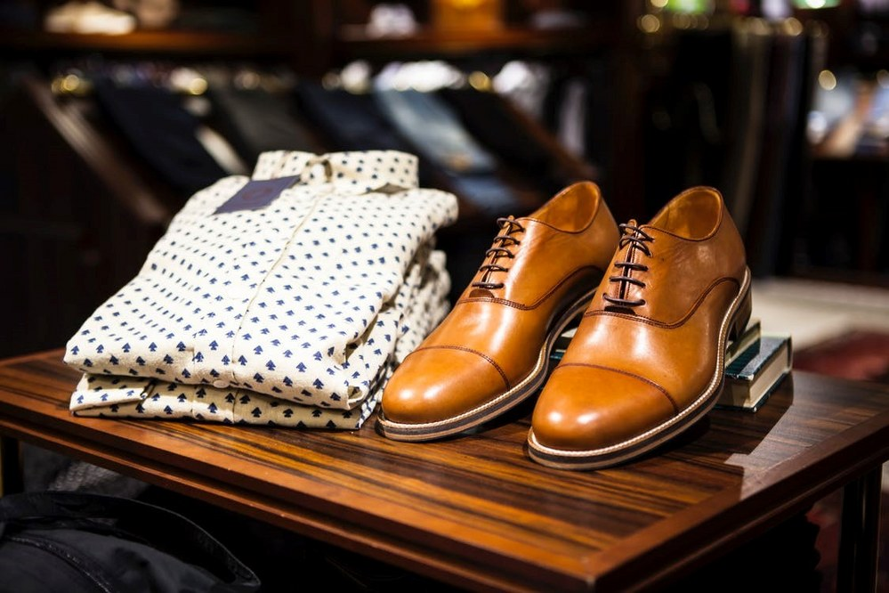 shoes and shirt - essential packing for men's solo travel over 50s