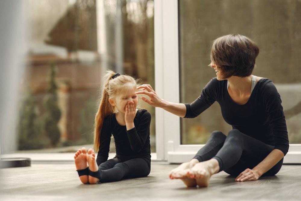 best free online activities during lockdown - mum and daughter