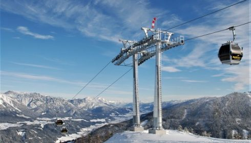 cable car on Reiteralm