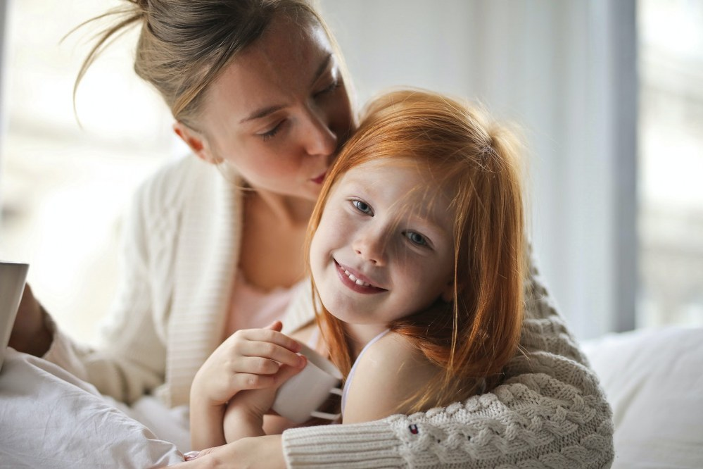 happy mum and daughter - newly single parent